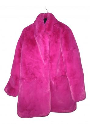 Nasty Gal Pink Faux fur Coats