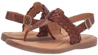 Børn Sumter (Tan Full Grain Leather) Women's Sandals