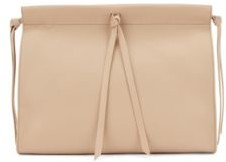 HUGO BOSS Large Clutch Bag In Smooth Leather - Light Brown