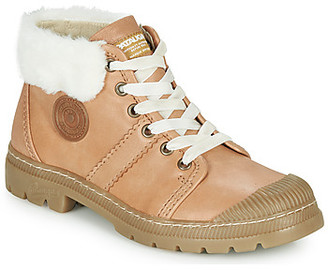 Pataugas AUTHENTIQUE women's Mid Boots in Brown