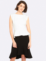 Oxford Vance Stretch Top