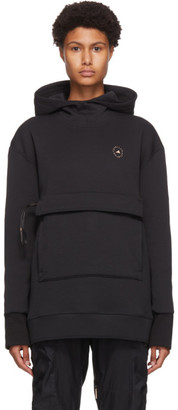 adidas by Stella McCartney Black Pull-On Sport Hoodie