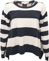 Stella McCartney Striped Long Sleeved Sweater