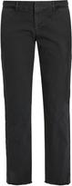 Nili Lotan East Hampton mid-rise cotton-blend chino trousers