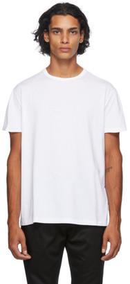 Maison Margiela White Mako Logo T-Shirt