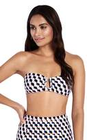 Milea Cut and Clash U Wire Bandeau