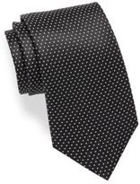 HUGO Small Dotted Silk Tie