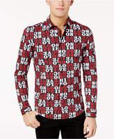 Love Moschino Men's Love-Print Shirt