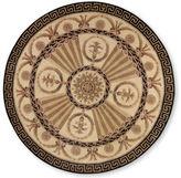 Momeni Elizabeth Hand-Carved Wool Round Rug