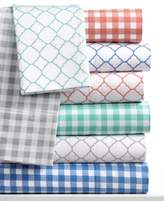 Charter Club CLOSEOUT! Damask Designs Printed Twin XL 3-pc Sheet Set, 500 Thread Count