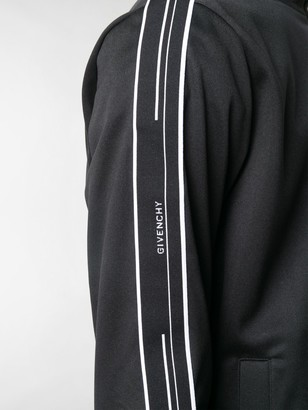 Givenchy Ticker logo stripe track jacket