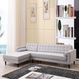Kennedy 3 Seater Sofa Chaise Side: Left