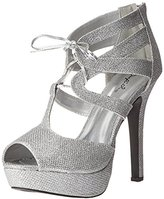 Qupid Women's Gaze-450 Platform Dress Sandal