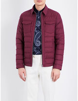 Etro Feather And Down Quilted Jacket