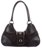 Prada Tessuto & Leather Shoulder Bag