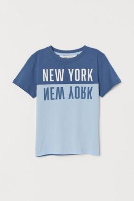 H&M Text-print T-shirt