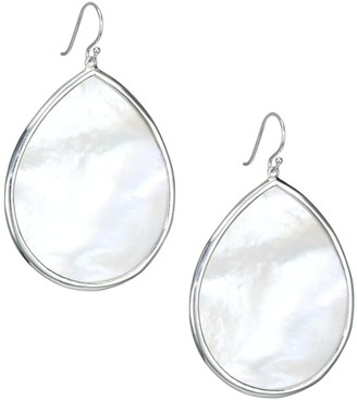 Ippolita Polished Rock Candy Large Sterling Silver & Mother-Of-Pearl Teardrop Earrings