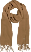 Mila Schon Camel Wool and Cashmere Stole