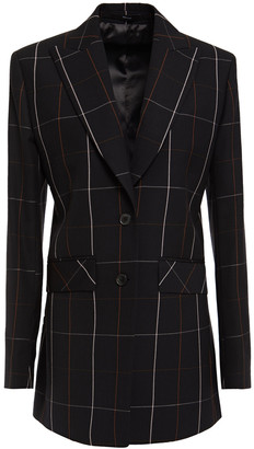 Paul Smith Checked Wool-twill Blazer
