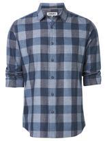 Jeanswest Kobe Long Sleeve Check Shirt-Blue Multi-S