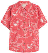 Current/Elliott Printed Shirt with Cotton