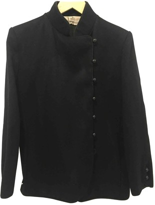Jean Louis Scherrer Jean-louis Scherrer Black Wool Jacket for Women Vintage