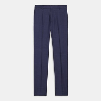 Theory Zaine Pant in Check Wool
