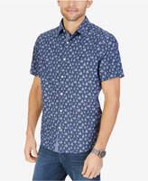 Nautica Men's Big & Tall Sailboat-Print Shirt