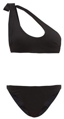 Zimmermann Empire One-shoulder Cutout Bikini - Black