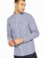 Lyle & Scott L/S Gingham Shirt