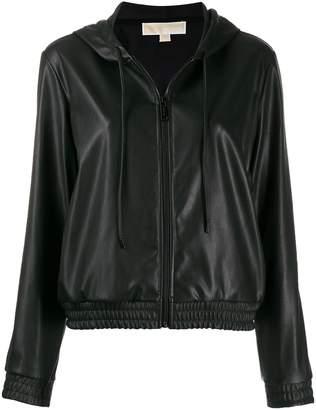 MICHAEL Michael Kors hooded zipped jacket