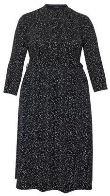 Dorothy Perkins Womens Dp Curve Monochrome Collar Shirt Dress