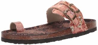 Muk Luks Women's Daisy Terra Turf-Copper Sandal 6 M US