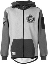 Plein Sport - zipped hoodie - men - Cotton/Polyester - M