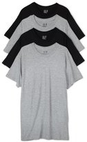 Fruit of the Loom Men's Crew Neck T-Shirt (Pack of 4), Black/Grey, XX-Large