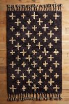 Anthropologie Moroccan Cross Rug
