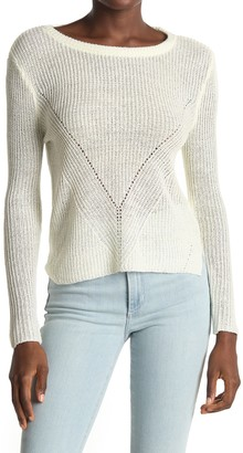 Love by Design V Stitch Pullover Sweater