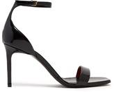 Saint Laurent Amber patent-leather sandals