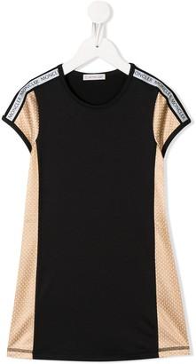 Moncler Enfant contrast T-shirt dress