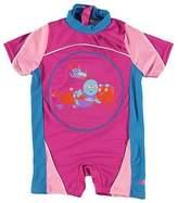 Zoggs Junior Floatsuit Short Sleeve Sun Protection Swimming Suit Dress