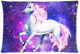 Generic Nebula Galaxy Space Unicorn Pillowcase - Pillowcase with Zipper, Pillow Protector, Best Pillow Cover - Standard Size 20x30 inches, One-sided Print