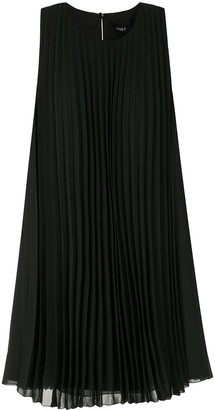 Paule Ka Pleated Shift Dress