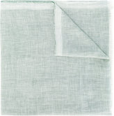 Ermenegildo Zegna raw weave scarf - men - Linen/Flax/Cashmere/Silk - One Size