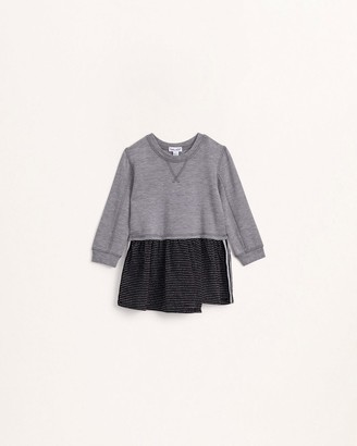 Splendid Toddler Girl Lurex Striped Jersey Dress