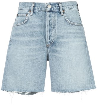 AGOLDE Rumi fitted shorts