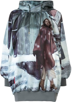 Undercover graphic print hoodie