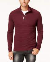 INC International Concepts Men's Quarter-Zip Sweater, Created for Macy's
