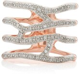 Monica Vinader Riva Waterfall Cocktail Diamond ring