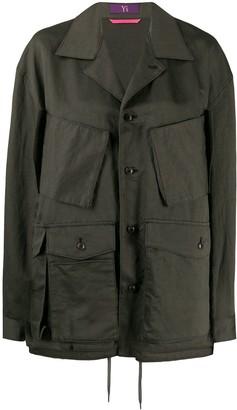 Y's pocket-detail oversize jacket