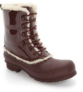 Hunter Genuine Shearling Lined Waterproof Boot (Women)